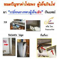 หมดปัญหาค่าไฟแพง ตู้เย็นกินไฟ?